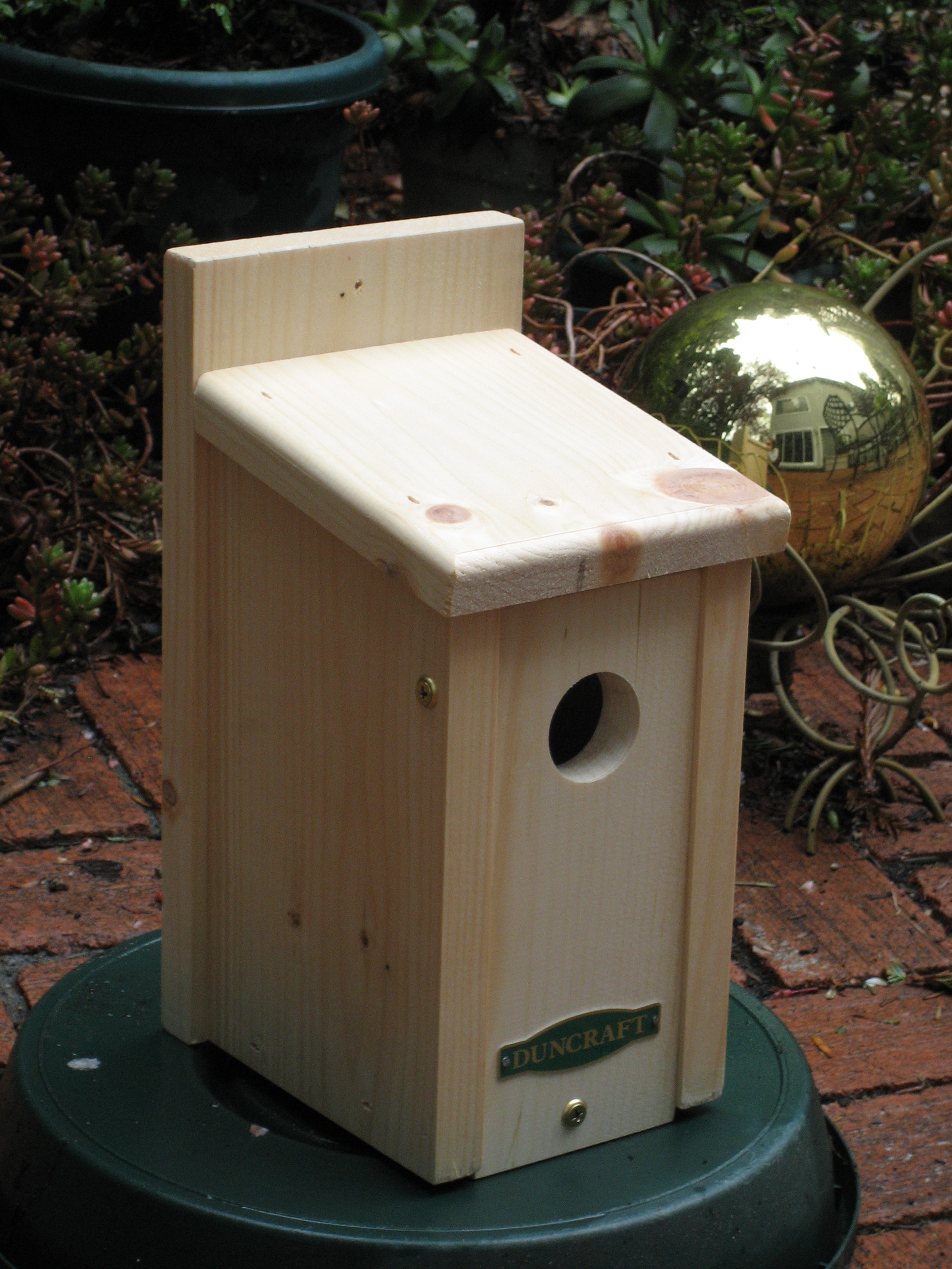 Plans for building birdhouses - Birdhouse dimensions